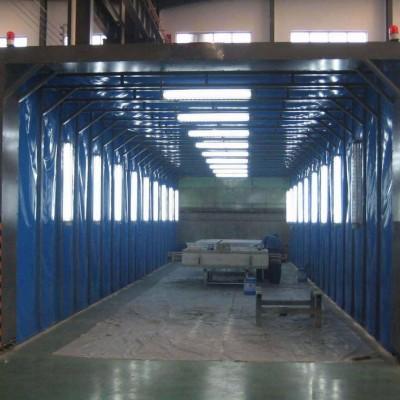聊城伸缩移动喷漆房生产批发供应