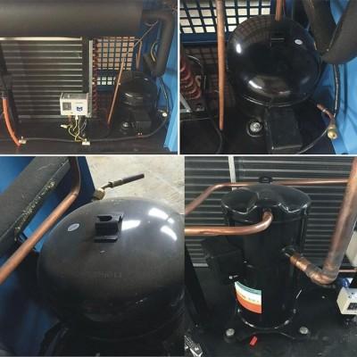 空压机管道冷干机  制药专用冷干机 医用不锈钢冷干机