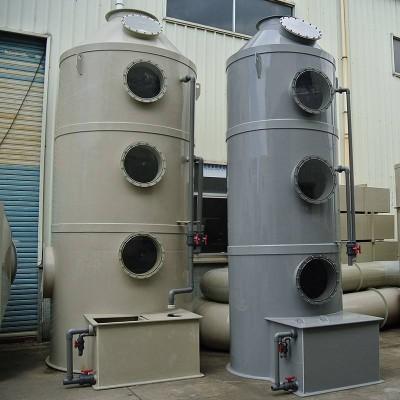 甘肃耐腐蚀废气处理设备,喷淋塔设计安装一条龙服务