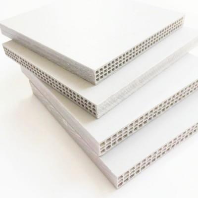 PP中空建筑模板设备_三层方孔模板生产线