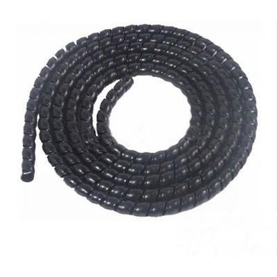 PP缠绕管设备_电缆螺旋护套管生产线