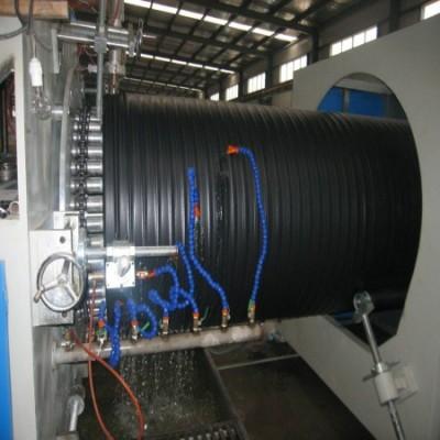 检查井PE中空壁缠绕管生产线