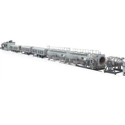 HDPE大口径实壁供排水管生产线