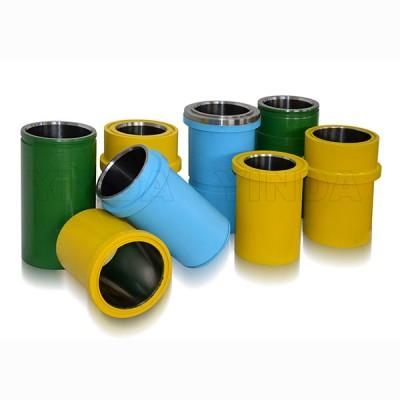 泥浆泵双金属缸套,泥浆泵配件,三原银达石油