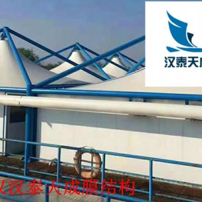 十堰电动车充电桩 十堰充电站膜结构遮雨棚制作