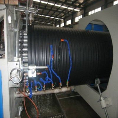 PE大口径检查井缠绕管生产设备