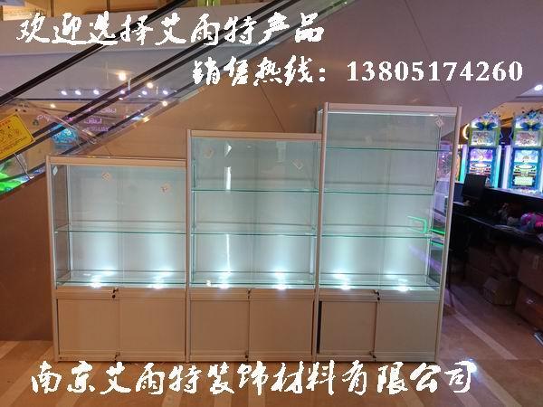 南京玻璃展柜拆装