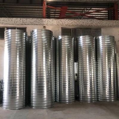 圆形镀锌螺旋风管一米价格|佛山风管加工厂