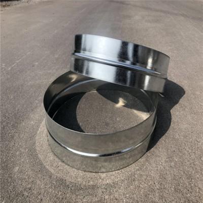 通风换气镀锌管道 环保圆形螺旋风管配件接驳圈直销价格
