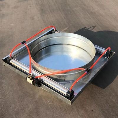 厂家供应白铁皮烟囱管 304不锈钢螺旋风管工业排风管