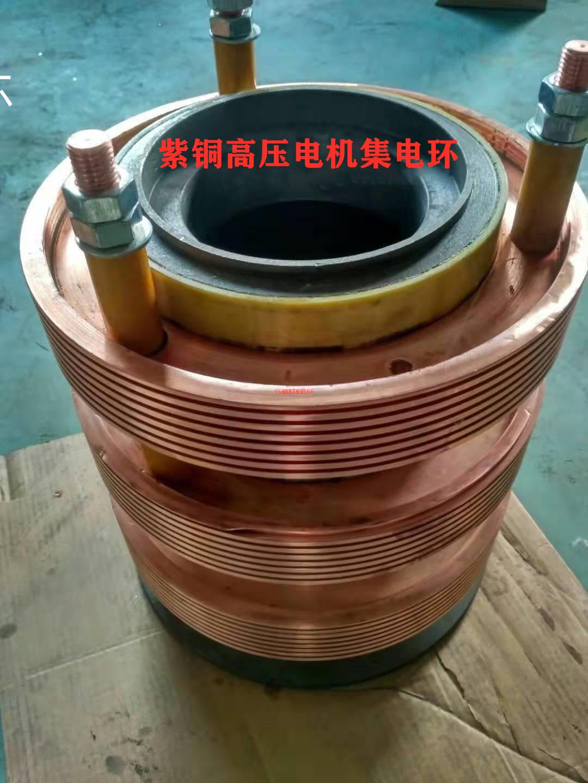 YR560紫铜高压电机集电环  电机集电环厂家定制直销