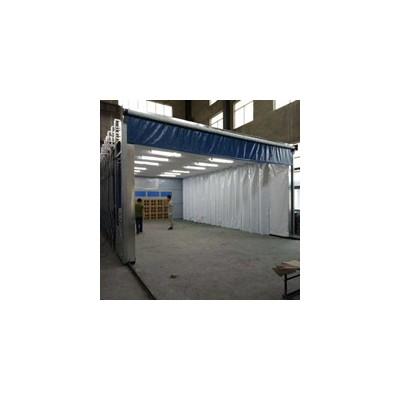 移动伸缩喷漆房废气处理设备全套流程方案