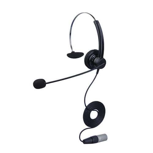 合镁201K客服耳机卡农接头专用话务耳麦