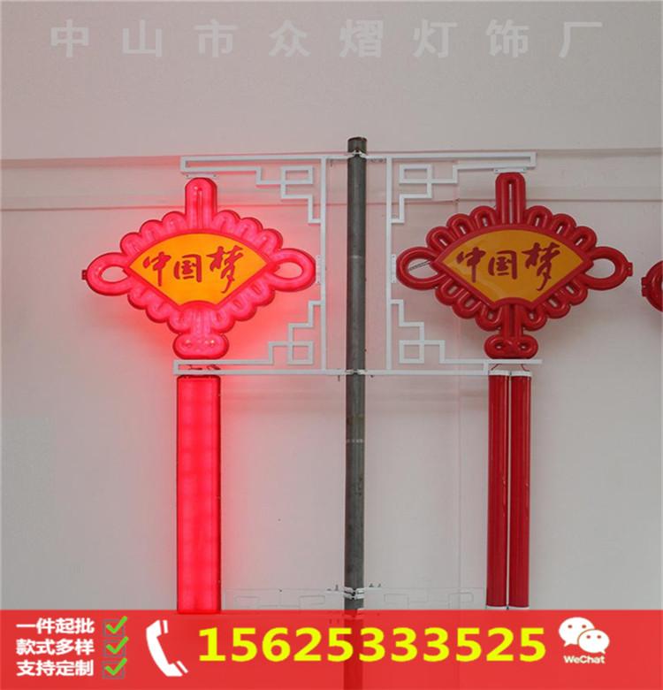路灯装饰led火炬灯 道路亮化火炬路灯杆造型灯