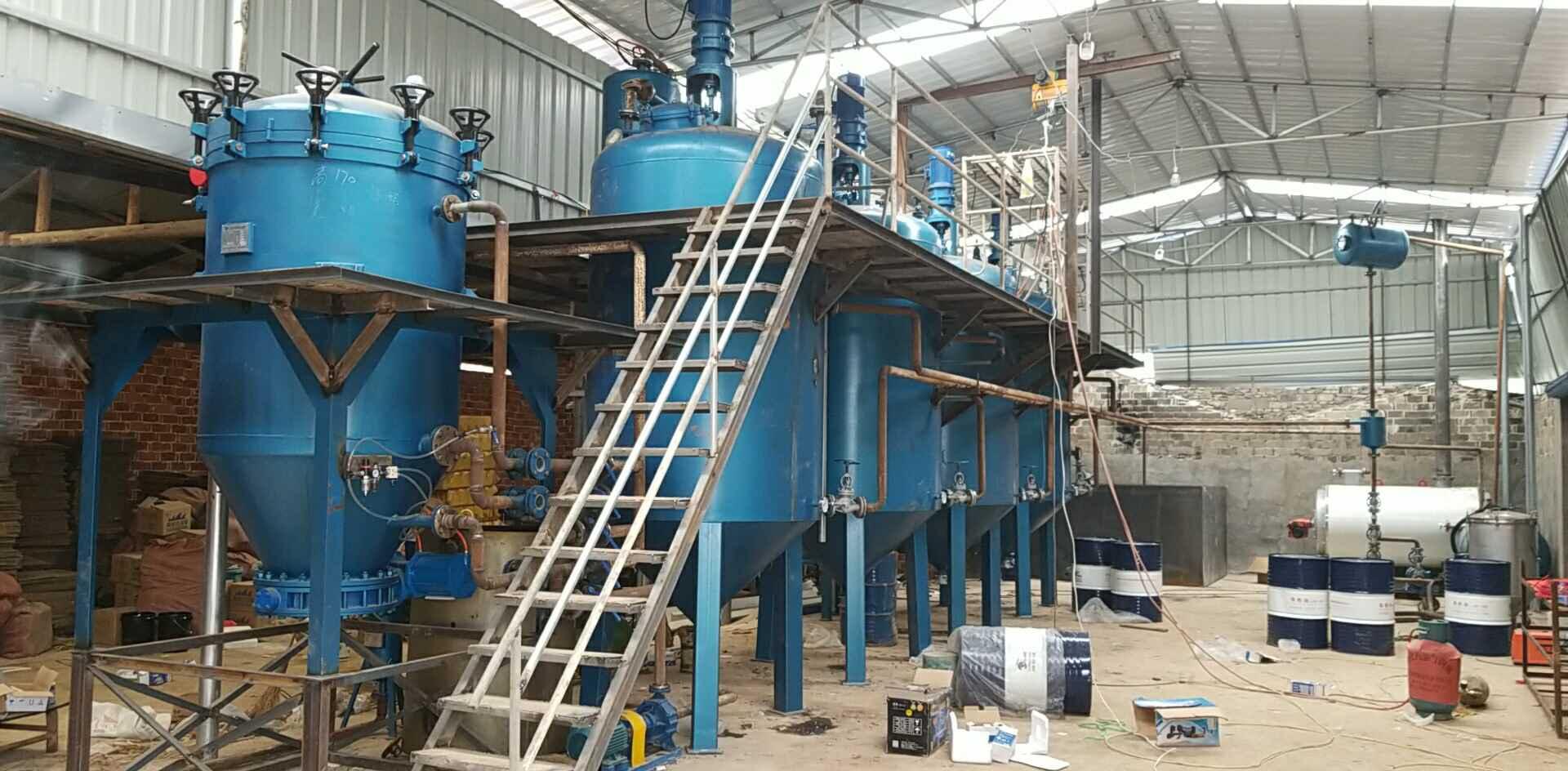 废机油过滤设备   废机油脱色设备   废机油炼油设备