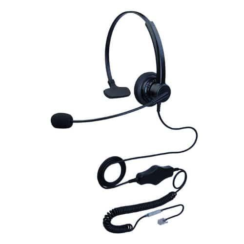 hoRme合镁S301N降噪耳机水晶头耳麦客服话务耳麦