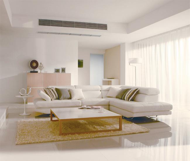 美的家用中央空调变频一拖一风管机带电辅热2匹空调