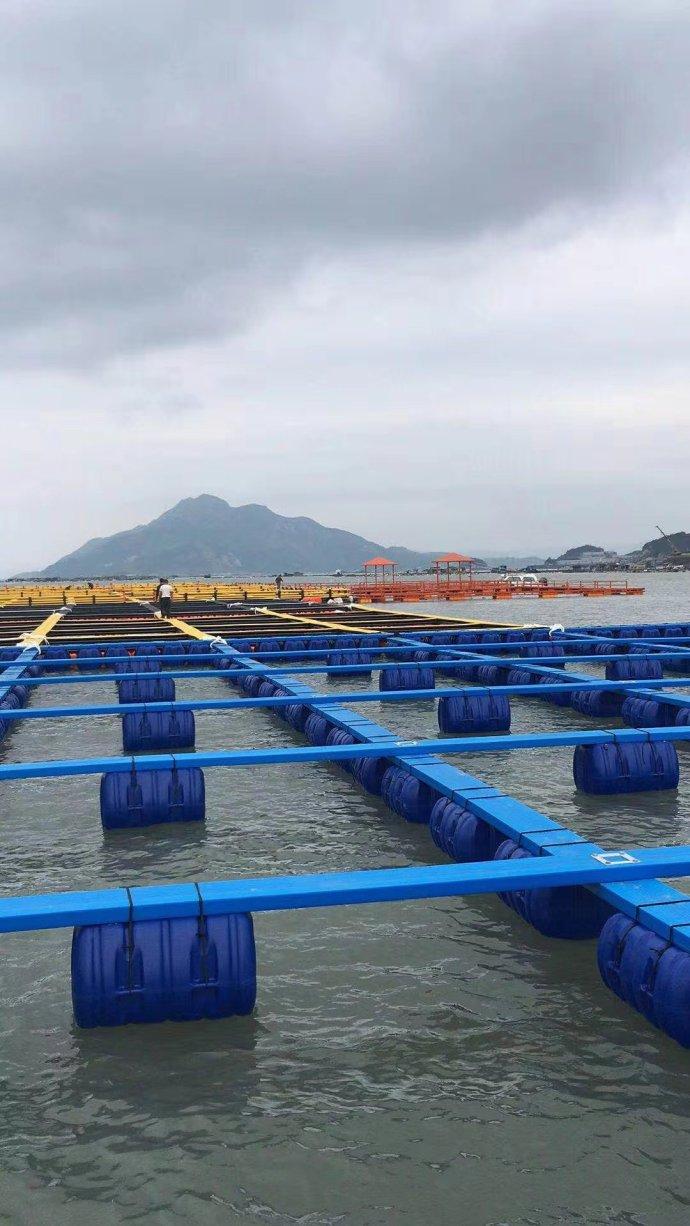 海洋网箱鱼排养殖踏板设备生产线