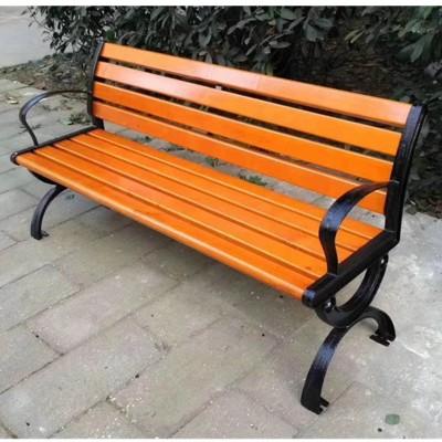 定制批发 公园长椅 木质座椅 休闲凉椅