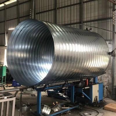 肇庆大型风管加工厂专业加工直径1400mm镀锌螺旋风管