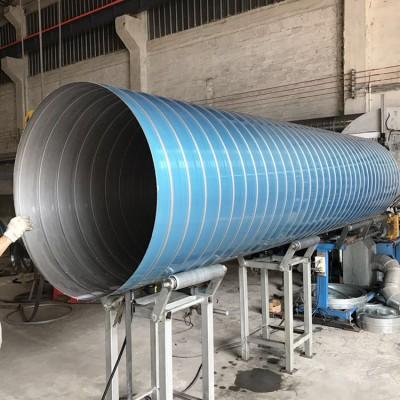 肇庆排气圆管厂家专业不锈钢304螺旋风管内壁光滑