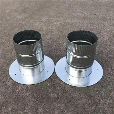 无尘车间不锈钢通风管道 环保除尘排气管道加工定制