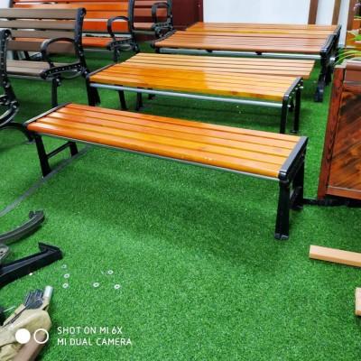 户外长凳 实木平凳 防腐木长条凳 批发定制