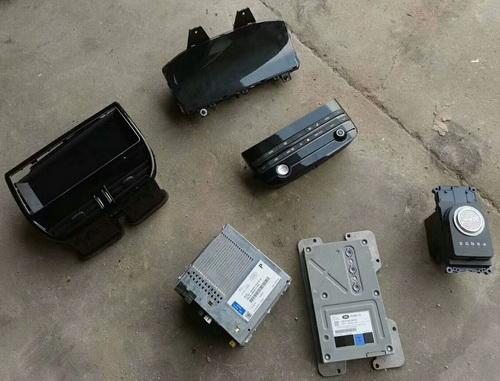 捷豹19款XEL仪表盘 空调控制面板 功放