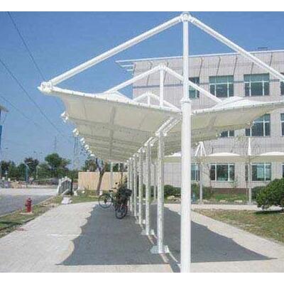 十堰充电桩钢膜结构/汉泰遮阳棚膜结构/膜结构车棚维修