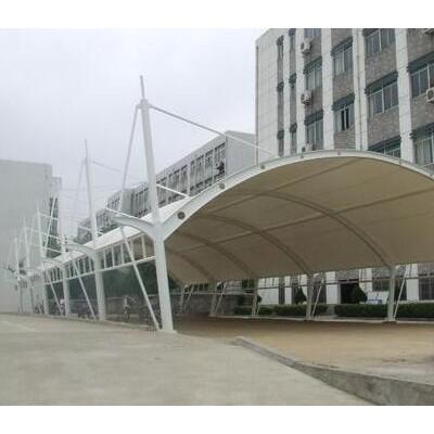 黄石停车棚拉膜结构/汉泰遮阳棚膜结构/膜结构车棚维修