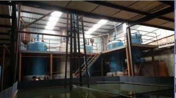 新乡市废机油再生设备免蒸馏免酸碱连续生产