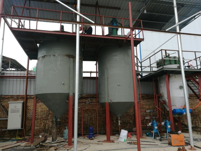 零污染免酸碱废油炼柴油设备