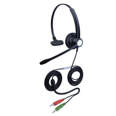 耳麦品牌hoRme合镁301P客服头戴式话务耳机