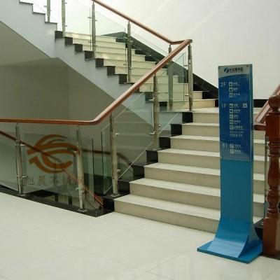 不锈钢夹玻璃楼梯扶手立柱管-不锈钢桥梁立柱管厂家直销