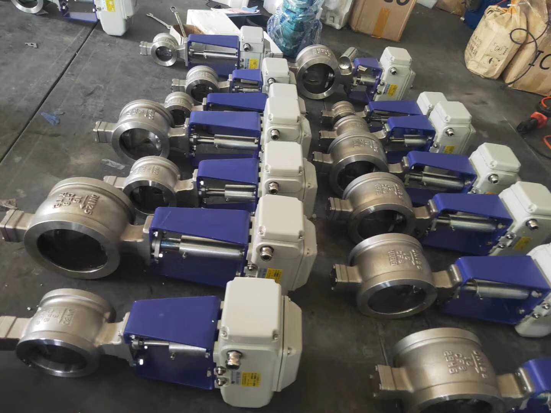 电动V型对夹球阀-V型调节阀厂家