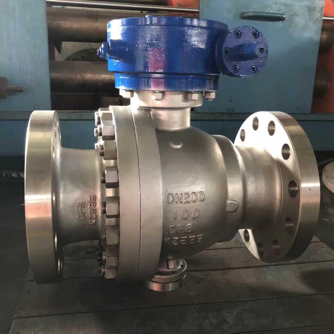 手动涡轮O型固定式球阀-手动O型法兰球阀供应商