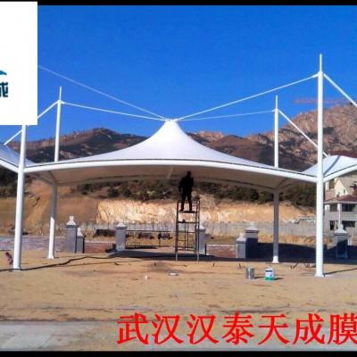 湖北主席台膜结构 汉泰膜结构维修 仙桃张拉膜结构停车棚