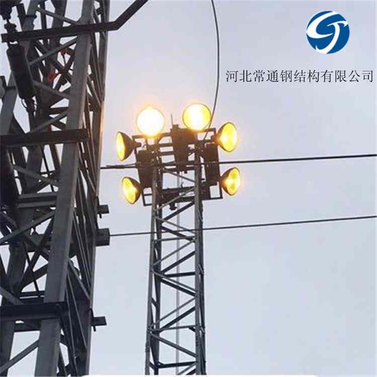 升降灯塔 铁路用升降式投光灯塔 升降高杆灯