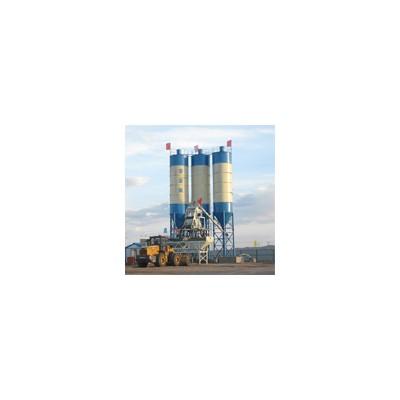混凝土搅合站HZS50混凝土搅拌站移动式商砼站
