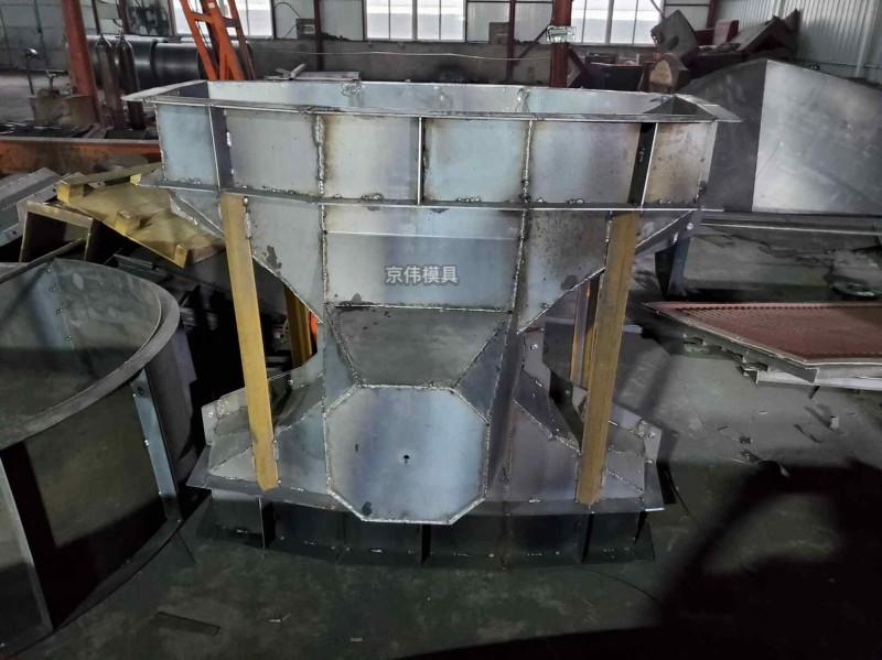 温州海岸防浪堤混凝土制品扭王字块模具组装拆卸介绍京伟