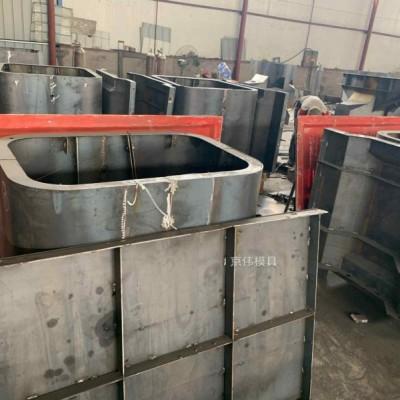 庐山河道水利工程模具混凝土箱体式景观护坡模具京伟厂家