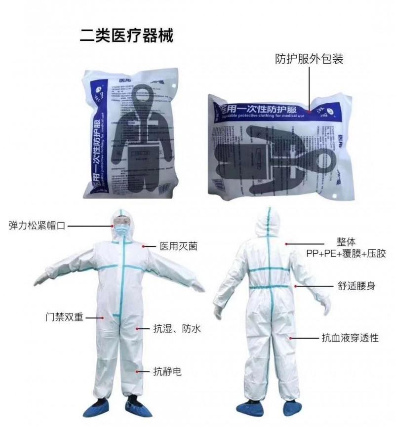 医用防护服隔离衣国内外销售厂家直销低价出售—山东朱氏药业集团