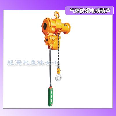 20吨气体防爆环链电动葫芦,II C类固定式运行式