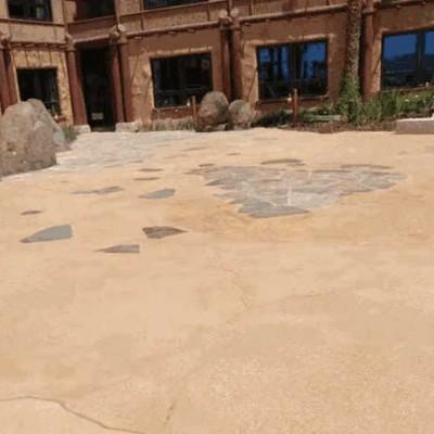 睿龙供应聚合物砾石混凝土施工,砾石聚合物施工地面