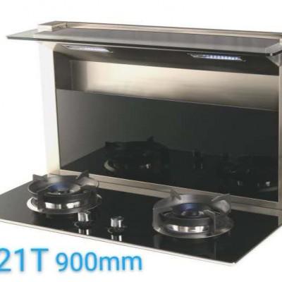 美炊嵌入式集成灶大风量易清洗低噪音自动洗