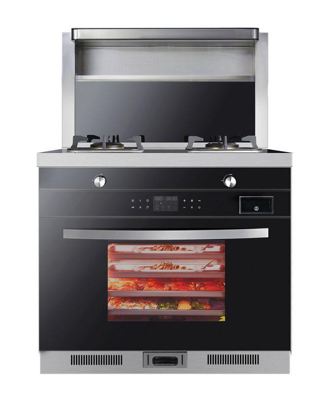 美炊MX2蒸烤箱一体集成灶家用吸烟机猛火灶