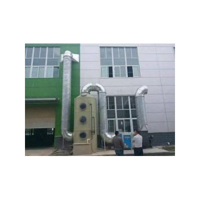 深圳华康制造的喷漆废气处理设备运行平稳