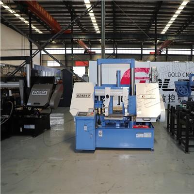 高德数控GZ4240全自动金属带锯床 切割大型钢坯 节材节能