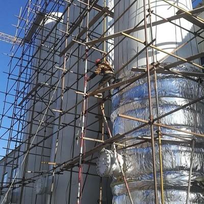 聚氨酯罐体保温工程不锈钢防腐保温施工