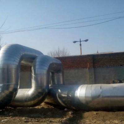 锅炉房设备管道玻璃棉保温工程施工罐体保温工程